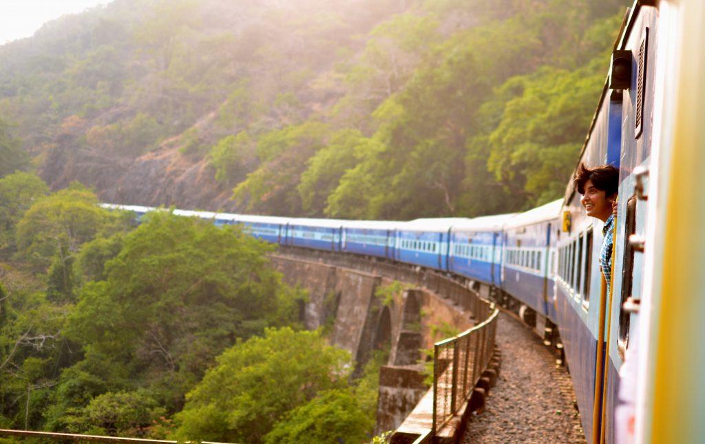 Guía Completa de Trenes en India - Nueva Delhi, Chennay, Kerala, Goa y Todo India.