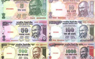 Dinero en India. Consejos de cómo manejarse.